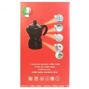 قهوه ساز جنوا 3 کاپ مدل Black-تصویر 5