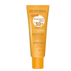 کرم ضد آفتاب رنگی بیودرما مدل Golden colour حجم 40 میلی لیتر