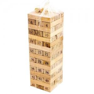 بازی فکری جنگا مدل Wood Toys