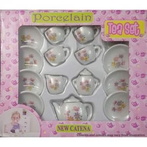 ست اسباب بازی چای خوری کودک مدل 15-flo