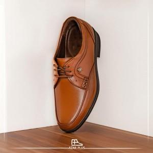 کفش مجلسی و رسمی تمام چرم گاوی مدل t12 مردانه +ارسال رایگان-تصویر 2