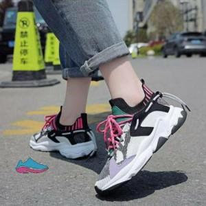 کفش کتانی دخترانه مدل رنگارنگ-تصویر 5