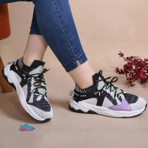 کفش کتانی دخترانه مدل رنگارنگ-تصویر 4