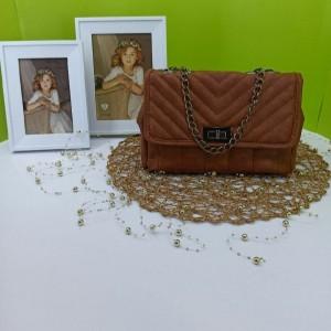 کیف دوشی زنجیری شسته گلدوزی-تصویر 2