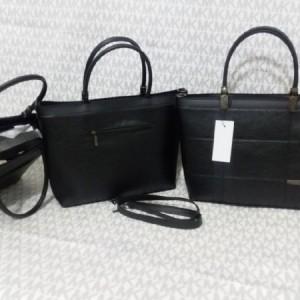 کیف زنانه بزرگ شسته لمینت شده ضخیم-تصویر 2