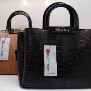 کیف برند زنانه ورنی جادار