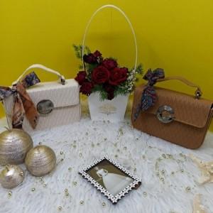 کیف دوشی درجه 1 جنس چروک لطیف-تصویر 3