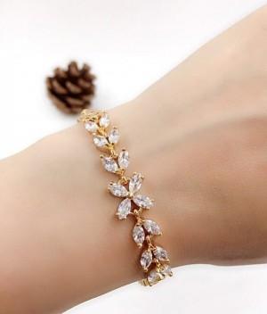 دستبند طرح طلا-تصویر 5