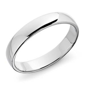 انگشتر نقره طرح حلقه ساده کد11390SR