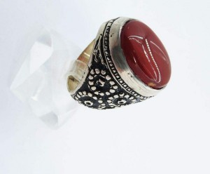 انگشتر نقره مردانه کد A1518-تصویر 4