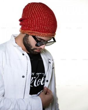 کلاه بافت رنگی