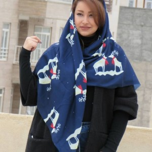 روسری نخی پاییزی