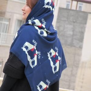 روسری نخی پاییزی-تصویر 3