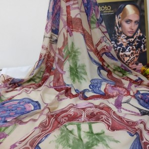 روسری نخی دست دوز-تصویر 4