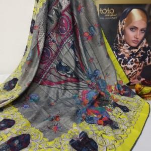 روسری ابریشم طویل-تصویر 3