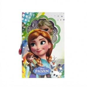 دفتر خاطرات قفل دار مدل Frozen