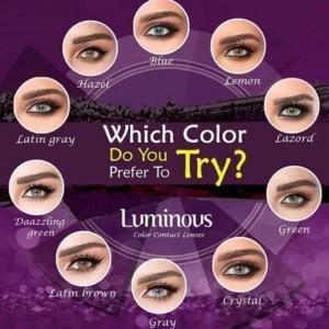 لنز رنگی سالیانه لومینوس رنگ lATIN GRAY-تصویر 2