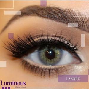 لنز رنگی سالیانه لومینوس رنگ Lazord
