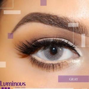 لنز رنگی سالیانه لومینوس رنگ gray خاکستری-تصویر 2
