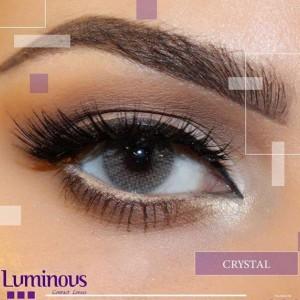 لنز رنگی سالیانه لومینوس رنگ کریستال