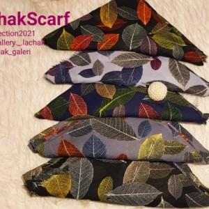 روسری طرح برگی-تصویر 2