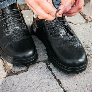 کفش اسپورت تمام چرم گاوی مدل آرکا-تصویر 3