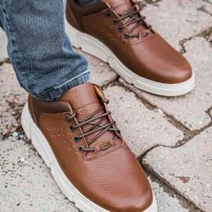 کفش اسپورت تمام چرم گاوی مدل آرکا-تصویر 5