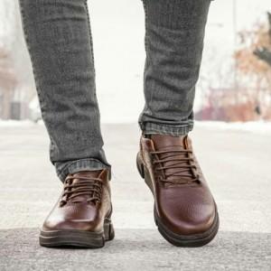 کفش اسپورت تمام چرم گاوی مدل آرکا