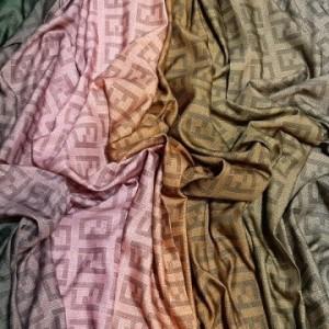شال نخ ابریشم گارزا دیجیتال C08 برند ارکیده-تصویر 3