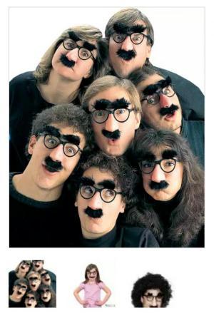 عینک سیبیل دار شوخی-تصویر 4