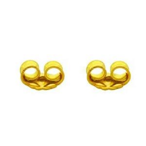 گوشواره چهاربرگ (۹۵۰ سوت ) طلا ۱۸ عیار-تصویر 2