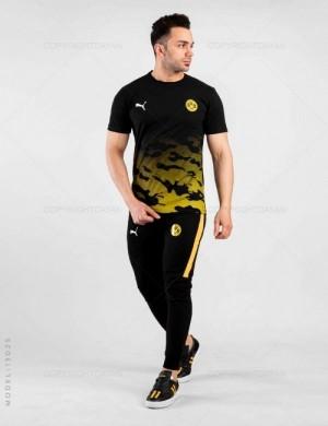 ست تیشرت و شلوار مردانه Dortmund مدل 13025