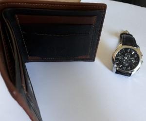 کیف پول چرمی طرح جدید