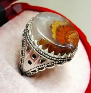 انگشتر نقره شجر دریایی زیبا