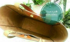 کیف چرم طبیعی دوشی زنانه-تصویر 5