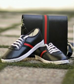ست کیف و کفش دخترانه گوچی مدل 2545-تصویر 2