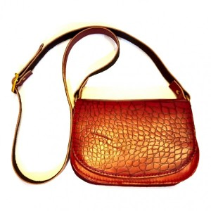 کیف دوشی چرم دست دوز-تصویر 2