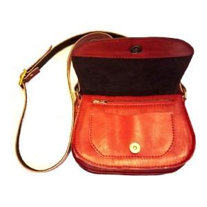 کیف دوشی چرم دست دوز-تصویر 3
