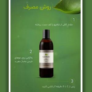 شامپو گیاهی مخصوص موهای خشک و آسیب دیده-تصویر 4
