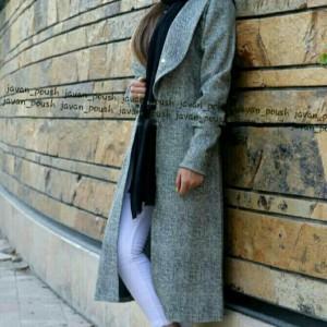 پالتو زنانه جلو باز فیتیله-تصویر 3