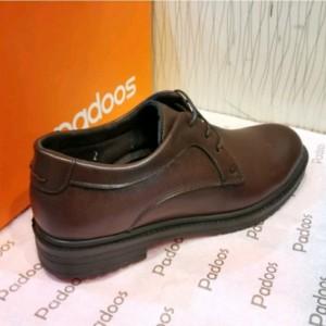 کفش بندی قهوه ای مردانه مجلسی آقای چرم-تصویر 2
