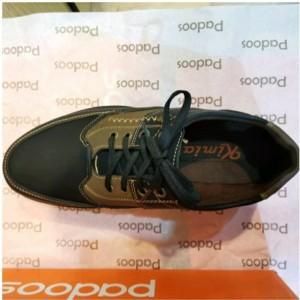 کفش بند دار مردانه طرح دوخت آقای چرم-تصویر 2
