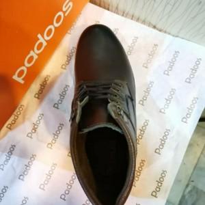 کفش نیم بوت بندی آقای چرم-تصویر 3