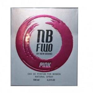 ادو پرفیوم زنانه نیو برند مدل فلو پینک FLU PINK حجم 100 میلی لیتر-تصویر 2