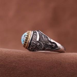 انگشتر فیروزه نیشابور-تصویر 3