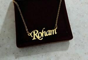 پلاک اسم رهام Roham