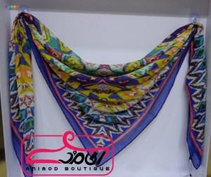 روسری نخی آبرنگی-تصویر 3