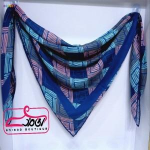 روسری نخی طرح مربع