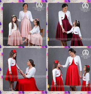 ست کت سارافون مادر و دختر-تصویر 3