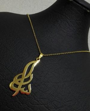 گردنبند استیل اسم فارسی و لاتین-تصویر 3